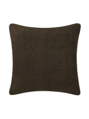 Angled Diamond Pillow Cover - Espresso