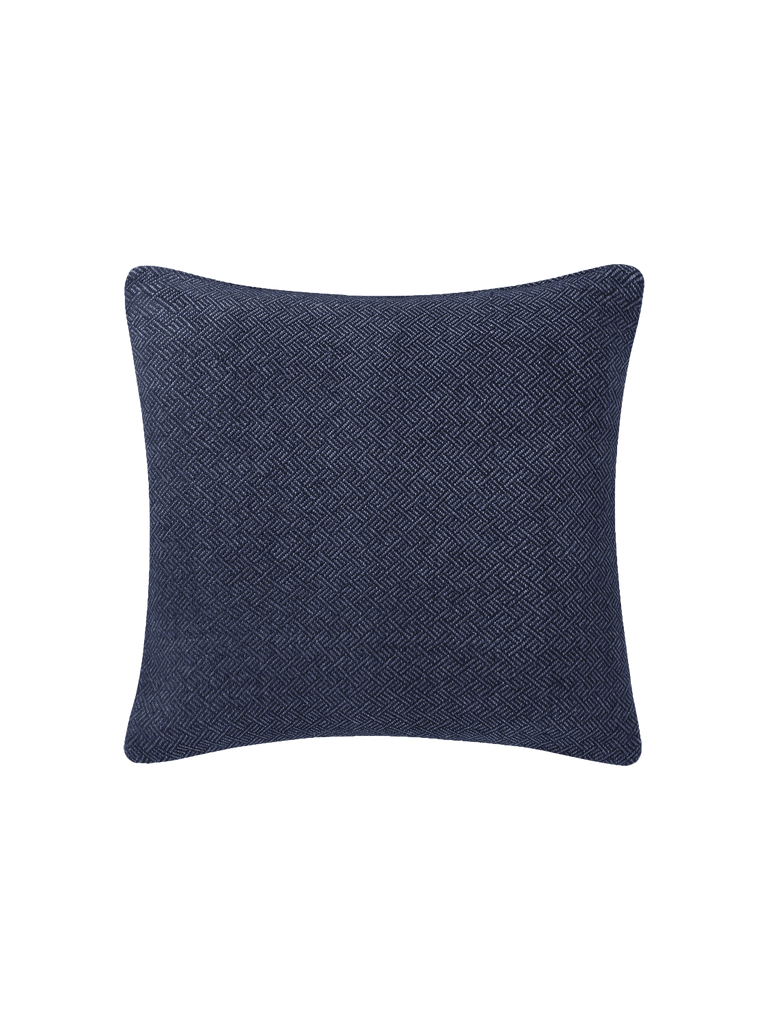 Angled Diamond Pillow Cover - Navy - color option