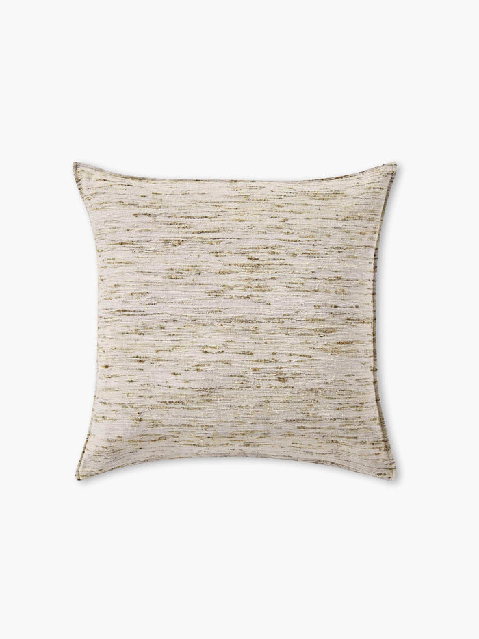 Natural Silk Pillow Cover - Silver