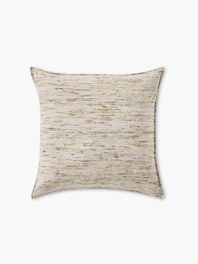 Natural Silk Pillow Cover - Silver - color option