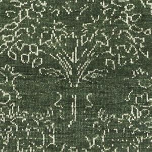 Arbolita Rug - Dark Emerald - color option