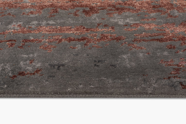 Laria Rug – Carbon / Amber - color option