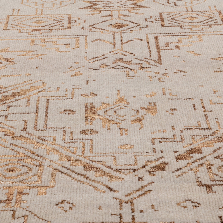 Venza Rug – Mist / Brass - color option
