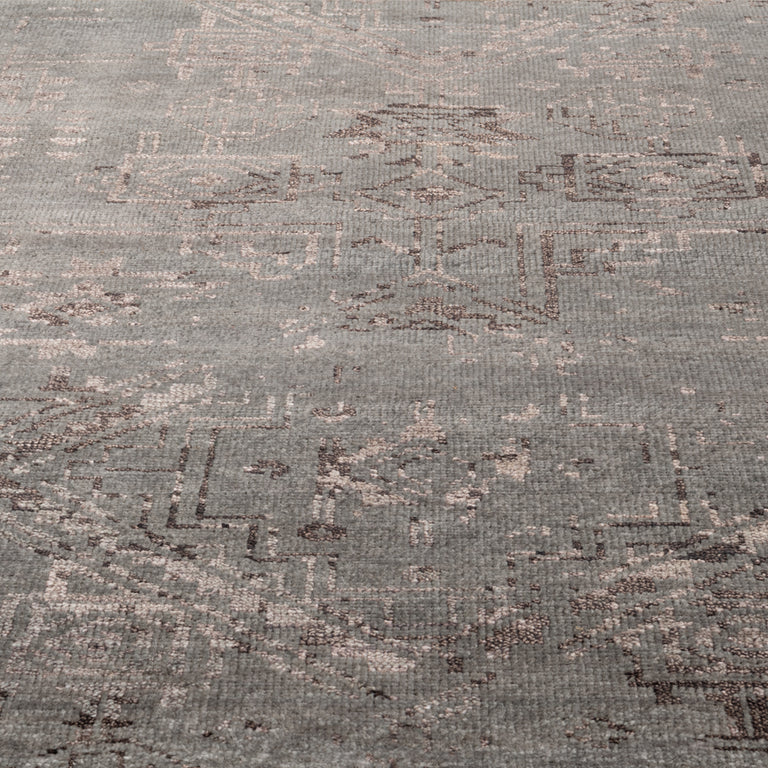 Venza Rug – Dark Grey / Brown - color option
