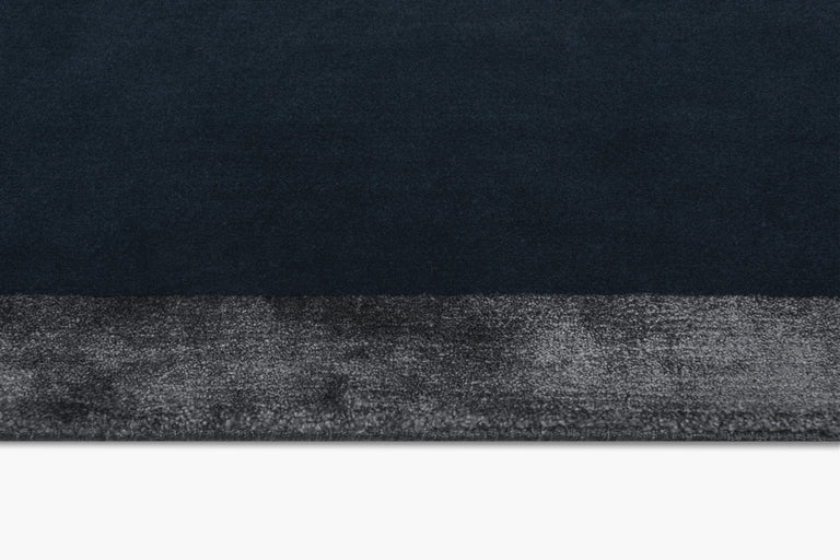Hand-knotted Nera Rug – Navy - color option