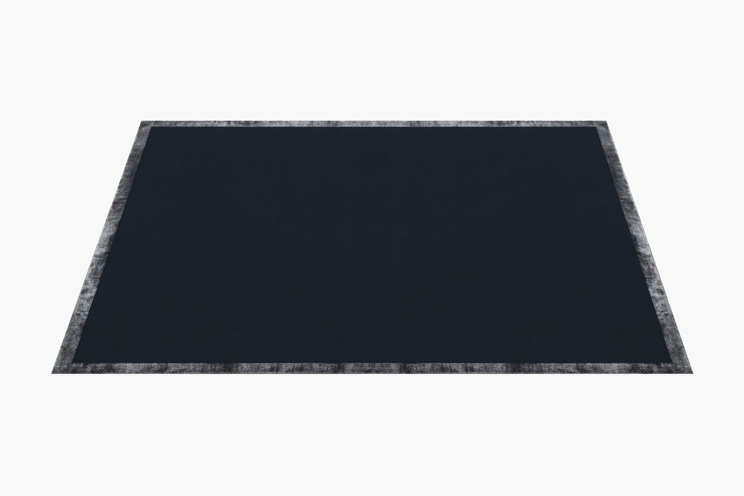 Hand-knotted Nera Rug – Navy
