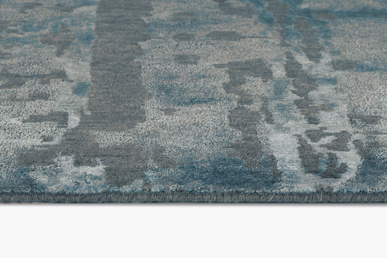 Reve Rug – Dark Cyan - color option
