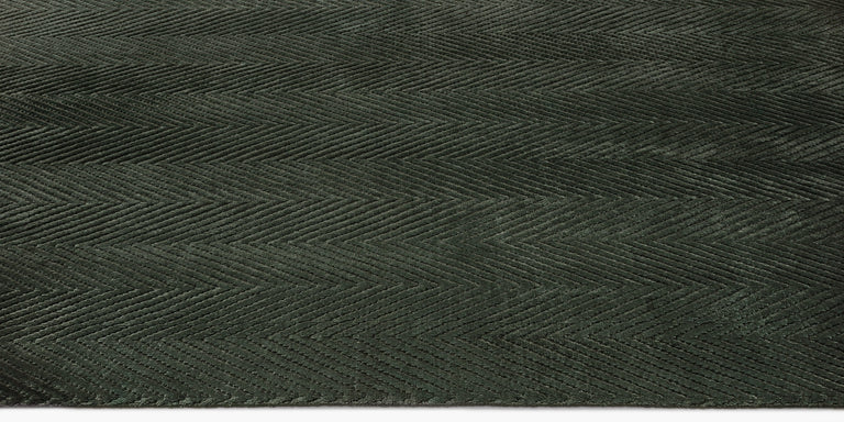 Shevra Rug – Dark Emerald - color option
