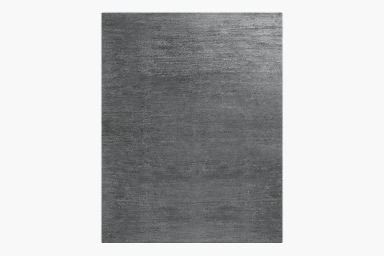High Pile Silk Rug – Lead - color option