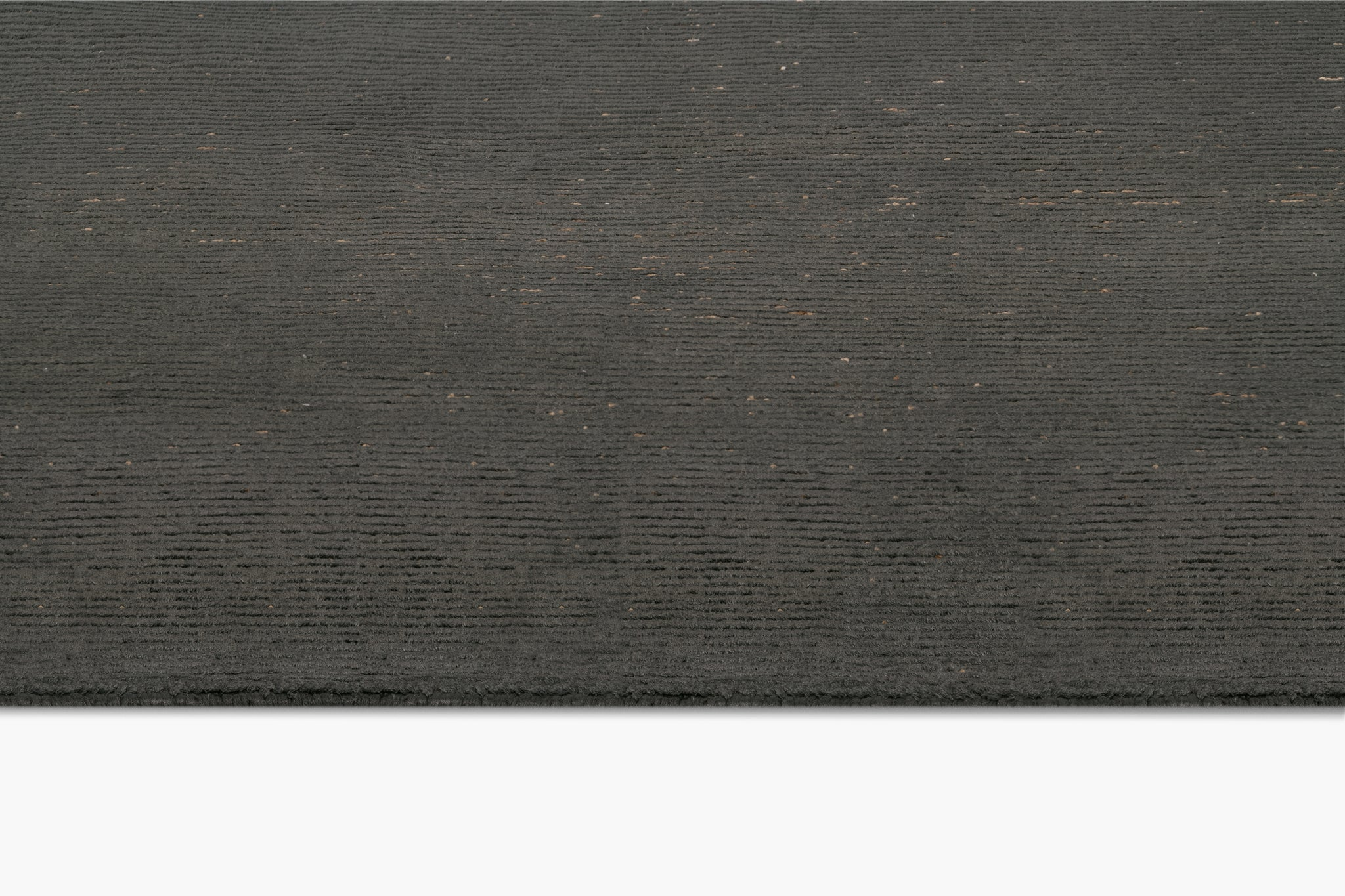 Ribbed Silk and Nettle Rug - thumbnail 3