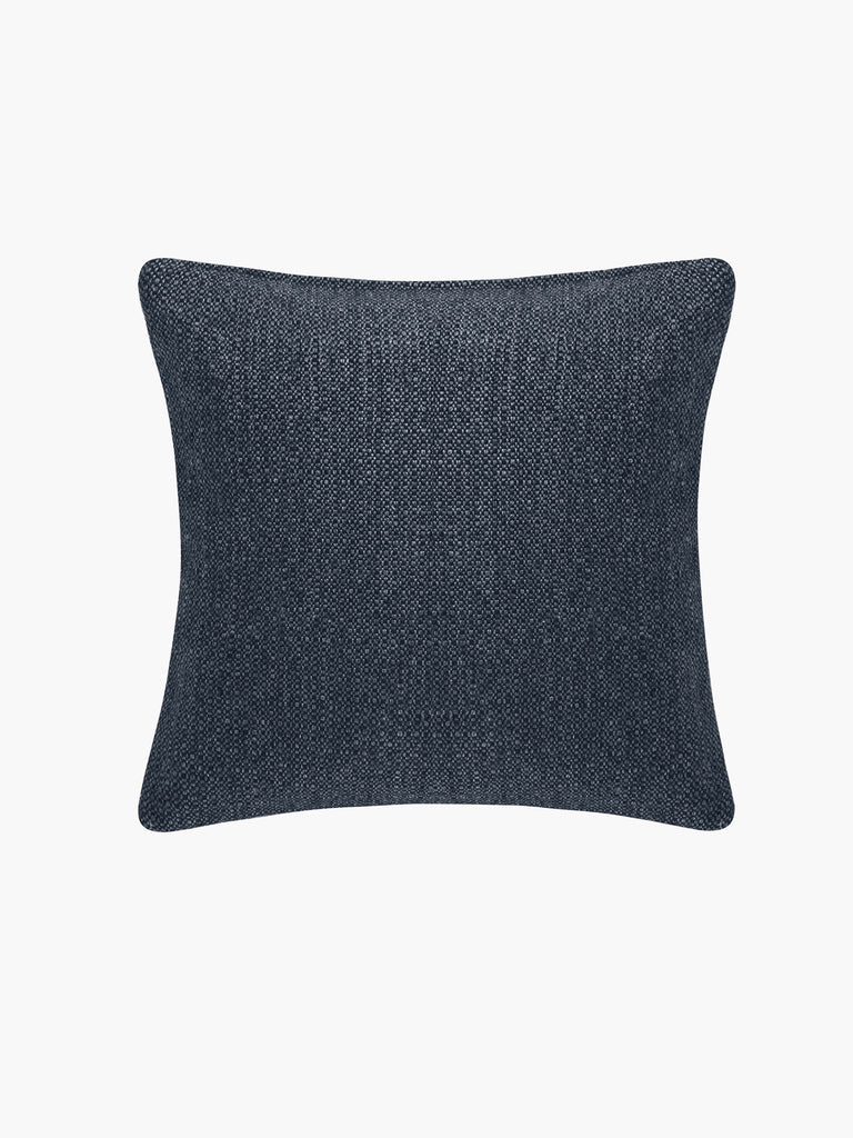 Basketweave Pillow Cover - Sapphire