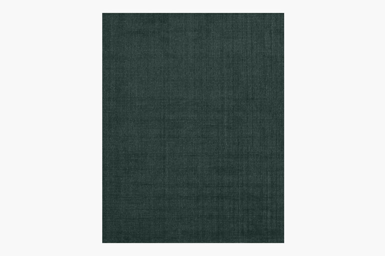 Isa Rug – Dark Emerald