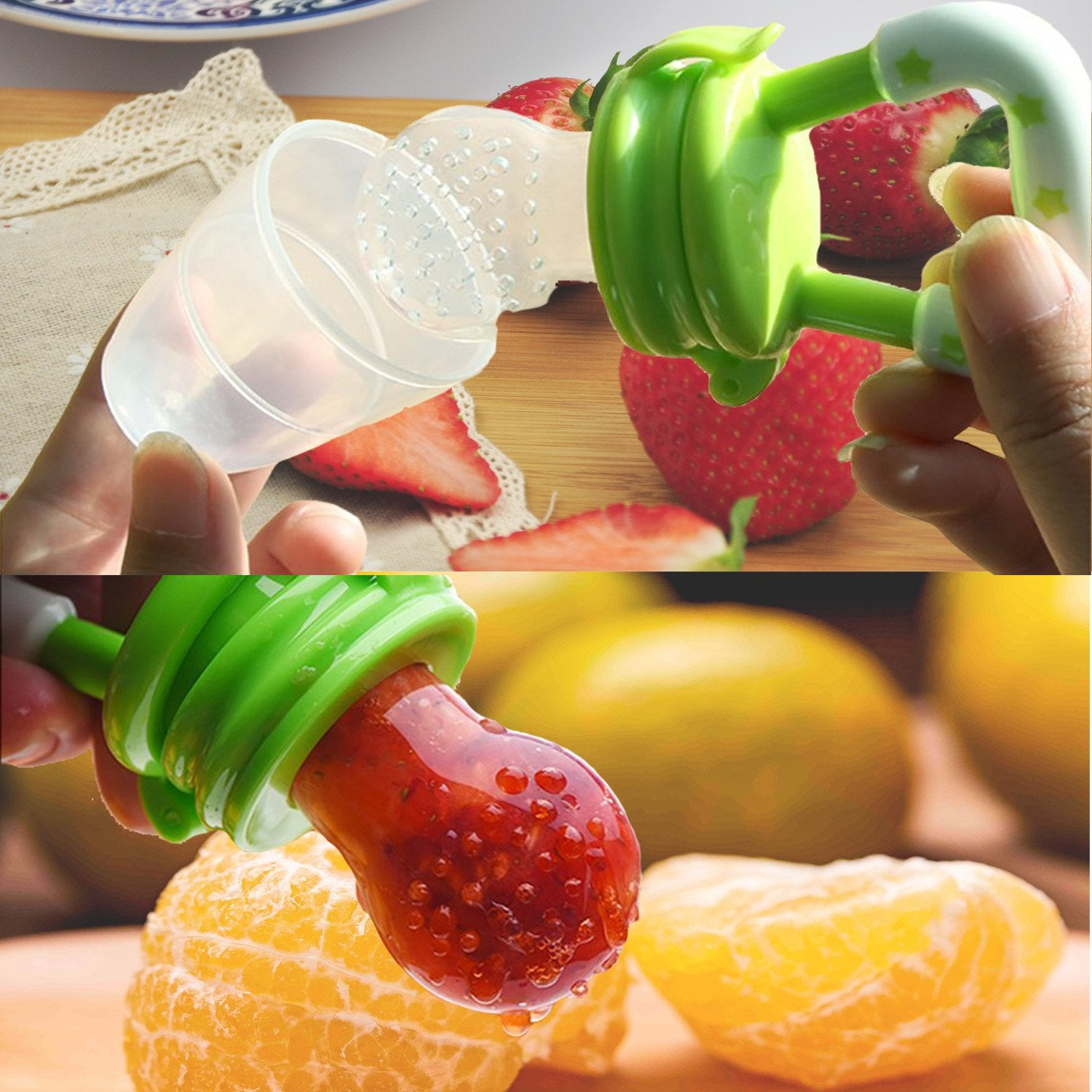 The Fruit Pacifier (Pack of 2)