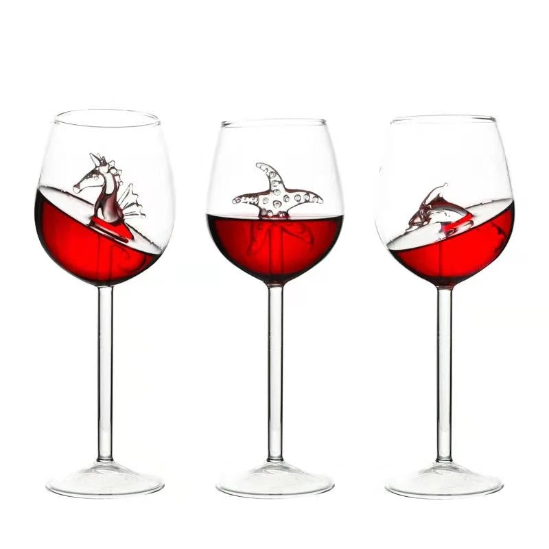Limited Edition Wine Goblets (Handmade)