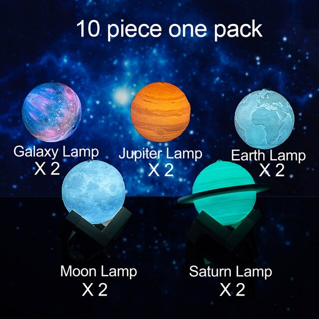 Solar System Lamps