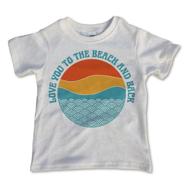 Beach and Back Tee, Natural
