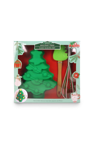 Christmas Tree Baking Set