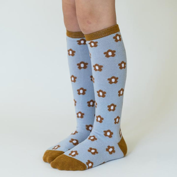 Flower Power Knee High Socks