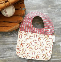 Drool Bib-Baseball