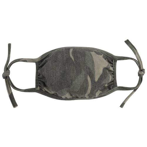 Adjustable Camo Face Mask for Adults