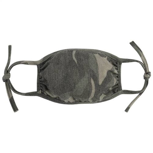 Adjustable Camouflage Reusable Mask for Kids