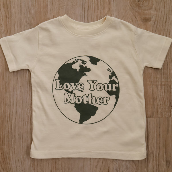 Love Your Mother Tee-Toddler