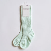 Mint Knee High Socks