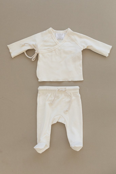 Cotton Layette Set-Cream