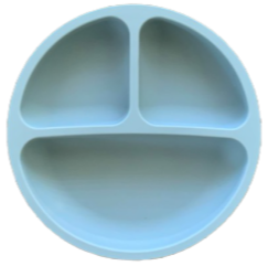 Silicone Toddler Plate-Seaside