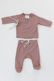 Cotton Layette Set-Blush