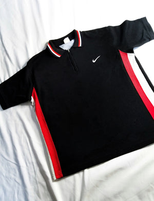 Nike Polo Half-Zip-Upcycled Apparel-The Mix HamOnt