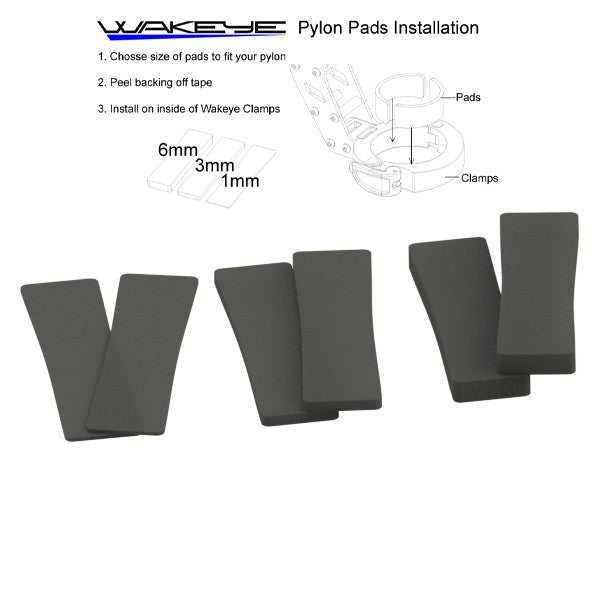 Pylon Rubber Pads