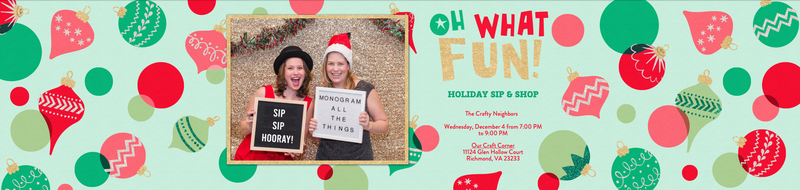 Holiday Sip & Shop!