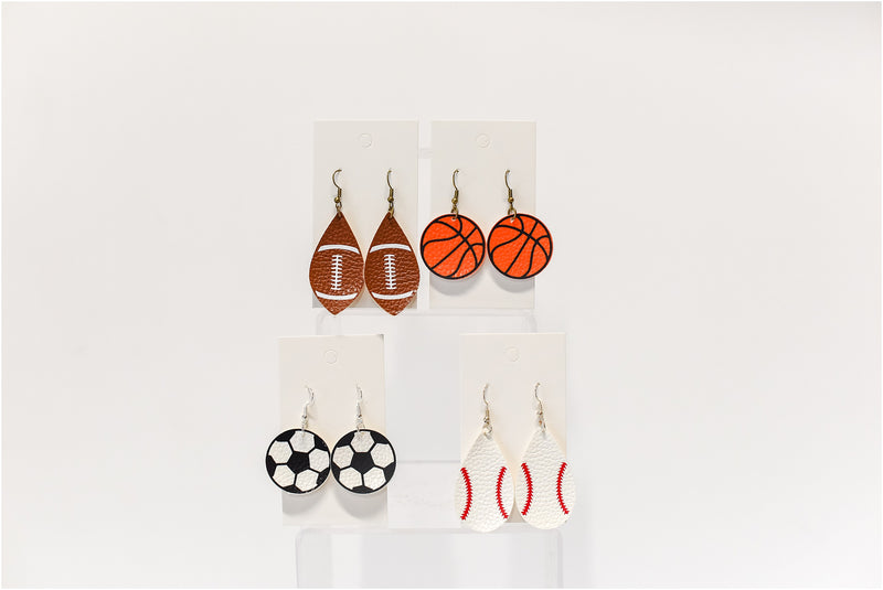 Sports Earrings