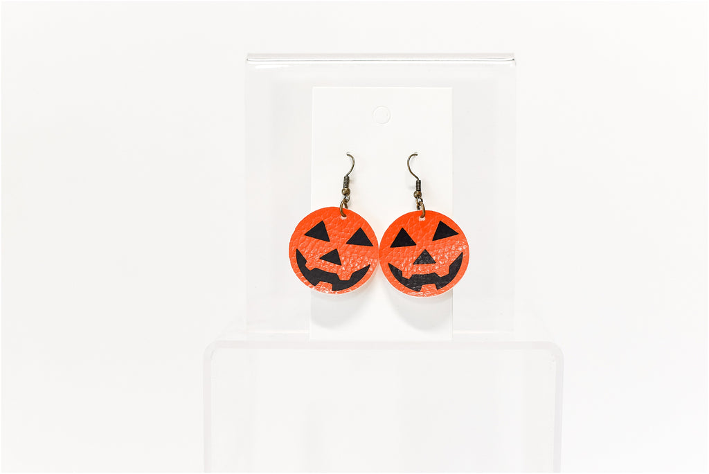 Pumpkin Earrings