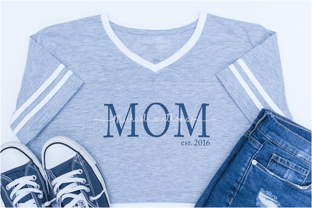 Personalized Mom Tee