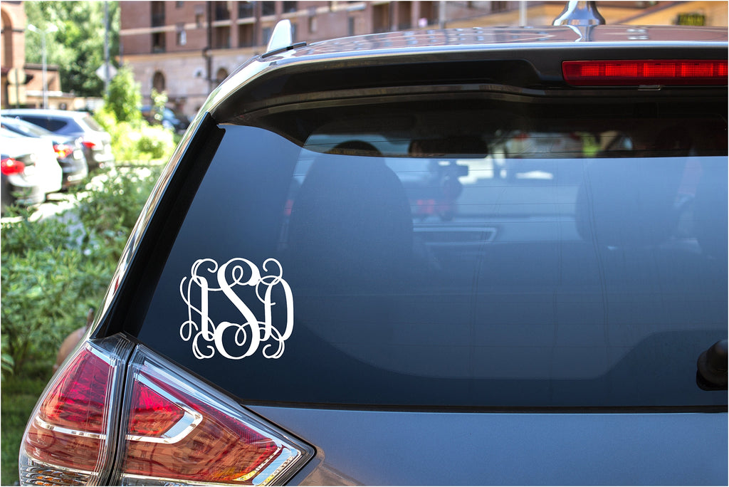 Monogram (Car decal)