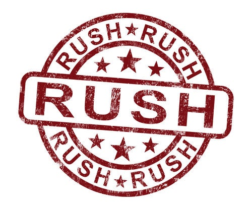 Rush Request