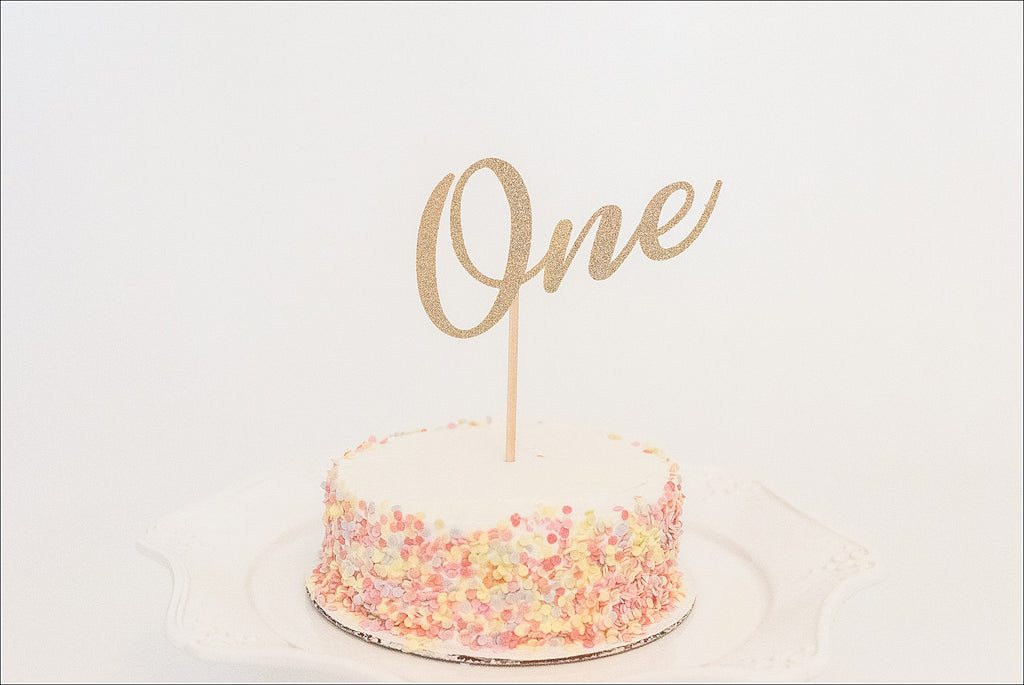 """One"" Cake Topper"