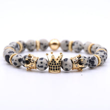 Load image into Gallery viewer, Gold Crown Bracelet Beads Bracelets