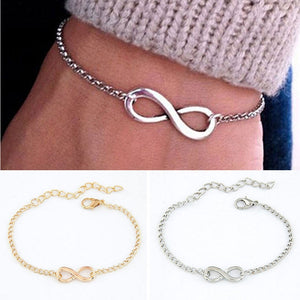 Cross Infinite Bracelet