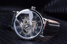 Load image into Gallery viewer, Forsining Skeleton Mechanical Watch