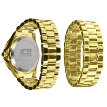 Load image into Gallery viewer, Gold/Silver Bling Master Watch/Bracelet Set