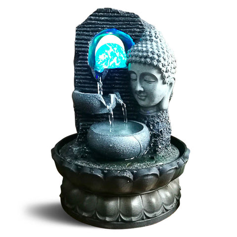 Fontaine Bouddha led