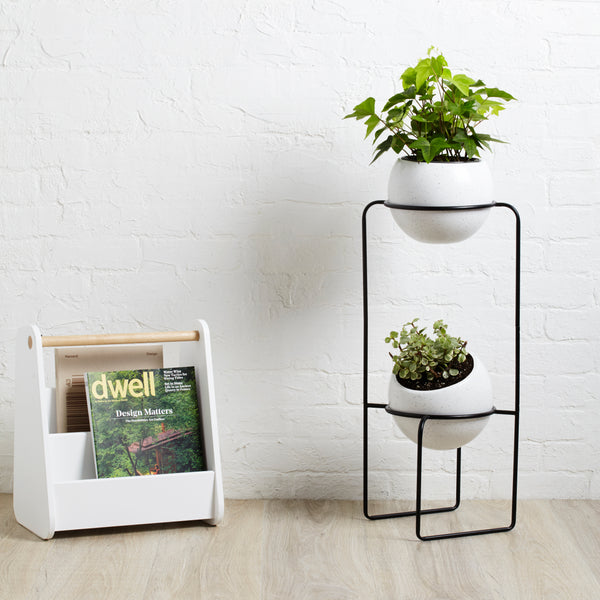 indoor planter, planter, planters, tiered planter, freestanding planter