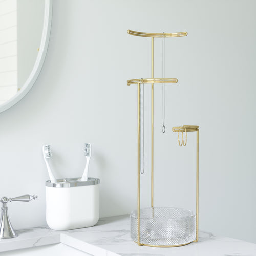 Jewelry Stands | color: Brass | Hover