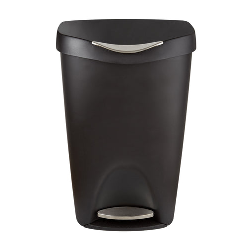 Kitchen Trash Cans | color: Black-Nickel
