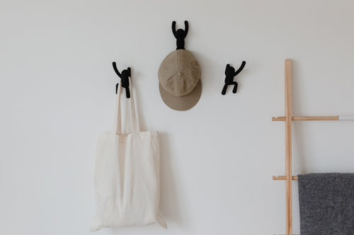 Wall Hooks | color: Black | Hover