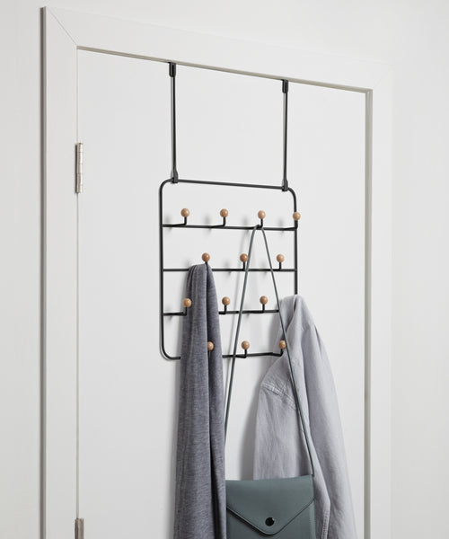 Over The Door Hooks | color: Black | Hover