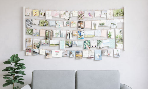 Wall Frames | color: White | Hover